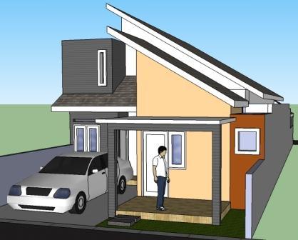 sketsa rumah minimalis terbaru - rumah minimalis tipt